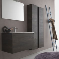 Light 45 G11 Wall Hung Vanity. Like the double or a single long cupboard.