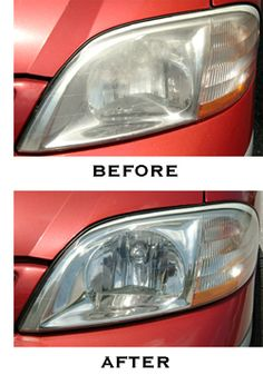 How To Restore Car Headlights With toothpaste