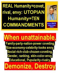 Real v. Utopian Humanity - Read online for free. on converting coveting and envy to positive rivalry Philosophy Books, Popular Articles, Celebrity Look, Envy, Physics, Literature, Positivity, Science, Education