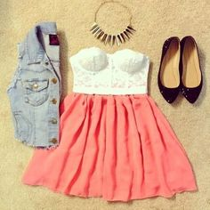 Short sleeve shirt instead and this would be adorable!!