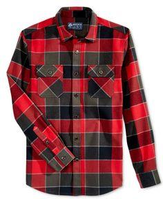 22b963ea162b American Rag Men s Plaid Shirt Jacket