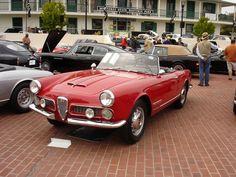 Saved from Pinterest: Alfa Romeo 2000 Spider (1958)
