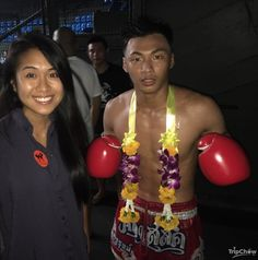 With one of the winners of Muay Thai at Rajadamnern Stadium, Bangkok