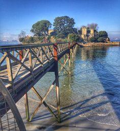 A cinco minutos de A Coruña, está el castillo de Santa Cruz, un lugar muy agradable para dar un paseo.  Feliz día!  #frabisa, #acoruña, #coruna, #coruña, #oleiros, #santacruz, #galicia , #galiza, #españa, #spain