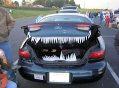 16 ways to decorate your car for trunk or treat.