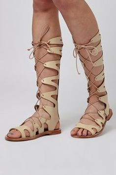 91c8e6095b56 FIGTREE Gladiator Sandals Classical Greece