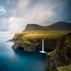 Photo: @chrisburkard  In the middle of the North Atlantic, a cluster of 18 jagged islands comprises the Faroe Islands. For anyone wanting to travel here, be sure to prepare yourself for the beautiful landscapes and abundant amount of sheep.