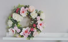 #flowers #wreath #homedecor #handmade