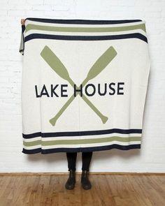 Lake House Luxury Throw #luxuryhouses #luxuryinteriordesign #Bathroominterior