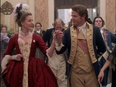 Benedict Arnold and Peggy Shippen in Benedict Arnold: A Question of Honor