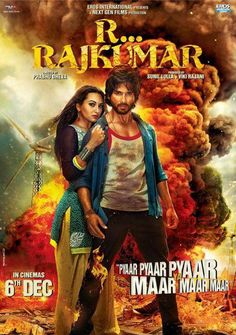 Book your tickets for Shahid Kapoor and Sonakshi Sinha starrer R..Rajkumar here. Directed by Prabhu Deva, this film is set to release this 6th December. #Bollywood #Movie