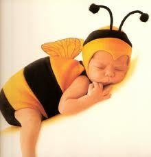Bee-a-baby --Anne Geddes