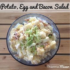 Potato, Egg and Bacon Salad - The Road to Loving My Thermomixer