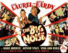 Laurel & Hardy - Big Noise, The (1944)_02. #film movie #cinema #posters