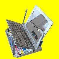myKeyO tablet organizer ends desktop clutter