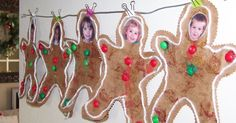 Today we made gingerbread men after reading The Gingerbread Man story. They turned out so cute! I hope Brett will make one tonight. I cut th...