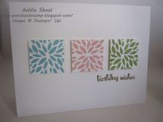Petal Parade, Sale-A-Bration, Fabulous Phrases, Birthday Card, stampin up, Goldie Shaul