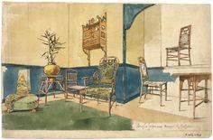 3. Domestic Interiors - E Goodwin_White House, Chelsea