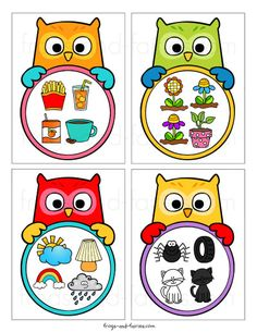 What Doesn't Belong Owl Task Cards Kindergarten Activities, Activities For Kids, Preschool, Similarities And Differences, Task Cards, Kids Education, Arts And Crafts, Fairy, Montessori