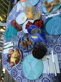 Breakfast on FI #Fire #Island #Ocean #Beach