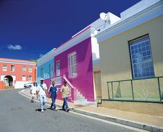 Cape Town Cape Town, Facade House, House Colors, South Africa, Fair Grounds, Around The Worlds, Urban, Places, Afrikaans