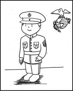 Marine Corps Coloring Pages Printable Coloring Pages