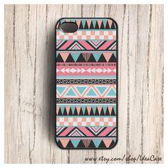 Geometric Case , Aztec Case , tribal aztec , Aztec Geometric , iphone... ($16) ❤ liked on Polyvore