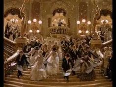 """""""Masquerade"""" from """"Phantom of the Opera"""" - Definitely one of my favourite scenes from the 2004 movie adaptation for its sheer eye candy. True, the stage version is more colourful and vibrant, but I like the black and white theme the ensemble used here, as it really makes the main characters stand out."""
