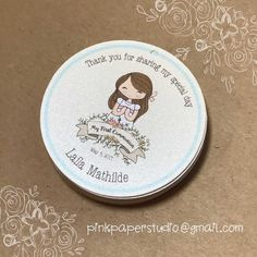 First Communion tags