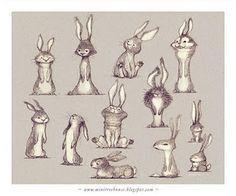 Wonderful rabbit illustration ideas
