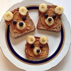 Cute healthy breakfast idea