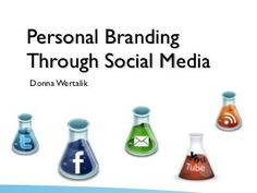This is like a perfect pin for a class i'm currently in. Gotta love social media and your personal brand.