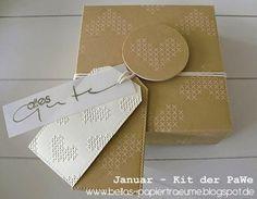 {Bellas} Papierträume: Januar - Kit °3