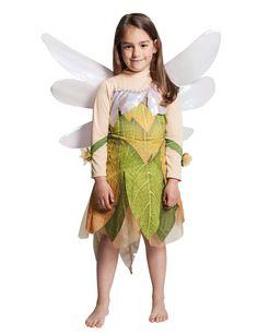 Déguisement Fée Clochette™ fille : Ce déguisement de Fée Clochette™ sous licence officielle Peter Pan™ se compose d'une robe et d'une paire d'ailes.La robe est verte avec un effet feuillage qui... #IdeeCadeau #CadeauDeNoel #Noel2016 #NoelDeFille #JoyeuxNoel