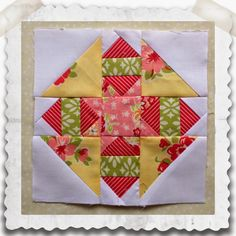 This weeks lovely block is called Goshen Star  and while there are a few variations of this block, this one is my favorite. I love the lit...