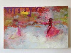 Niamh Mcconaghy- 'Dust', oil on calco, 42x30cm, 2014