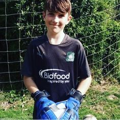 Congratulations to local goalkeeper Danny with a j4k sponsored glove … all the best at Plymouth argyle Football Club great post from @justnorthdevon
