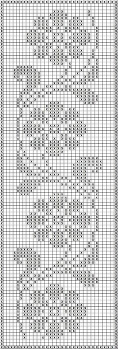 Crochet Edging Free Patterns Archives - Beautiful Crochet Patterns and Knitting Patterns - Filet Crochet Charts, Crochet Borders, Crochet Cross, Knitting Charts, Thread Crochet, Crochet Stitches, Knitting Patterns, Easy Crochet, Filet Pattern Crochet