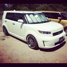 I dont care what you have to say about these cars i just think their so cute. Scion XB  Gen 2.