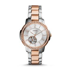 Fossil Architect Automatic Stainless Steel Watch - Two-Tone