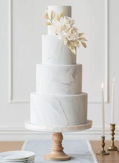 The Collection Gallery A Elizabeth Cakes Vancouver Wedding Cakes Elegant Wedding Cakes, Beautiful Wedding Cakes, Wedding Cake Designs, Wedding Cake Toppers, Beautiful Cakes, Wedding Themes, Elegant Cakes, Cake Wedding, Wedding Dresses