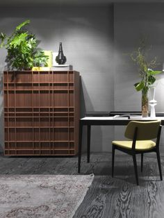 The solid #wood told by Porada at iSaloni 2013 #interiors