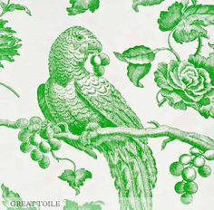 image: GREAT TOILE linen by Bennison Fabrics