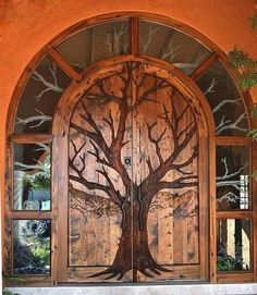 When judging architecture and design, the doors and entryways of a building are probably not the first thing that springs to mind during a critique. Cool Doors, The Doors, Unique Doors, Windows And Doors, Gothic Windows, Grand Entrance, Entrance Doors, Main Entrance, Phoenix Homes
