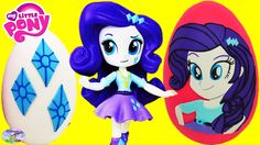 My Little Pony Equestria Girls Minis Rarity Playdoh Egg Episode Surprise...