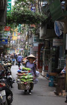 Downtown Ha Noi, Vietnam