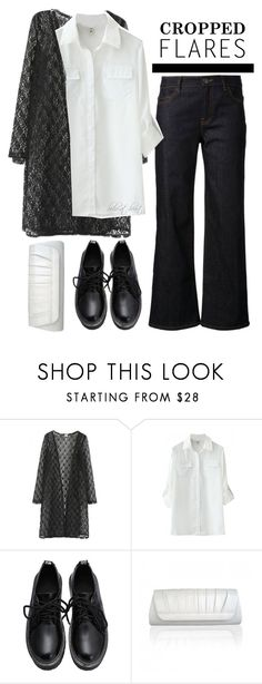"""The Trend: Cropped Flares (BH 7)"" by boho-at-heart ❤ liked on Polyvore featuring WithChic and beautifulhalo"