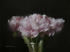 Neil Carroll Original Oil Painting Realism Impressionism Still Life Peonies #OilPaintingRealism