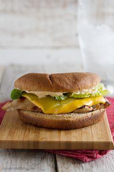 Santa Fe Grilled Chicken Sandwich Recipe