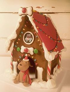 gingerbread dog house template  5 Best Gingerbread House Dog Houses images | Gingerbread ...